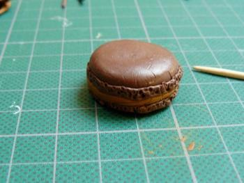 macaron cure dent