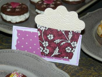 marque place cup cake