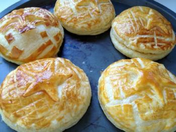 galettes pailletees or