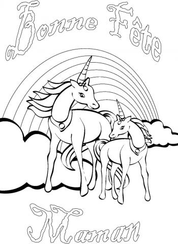 Deco pages for coloring coloring pages - Dessin de maman ...