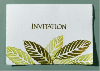 carte d'invitation